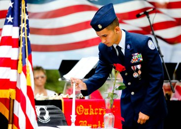 Belleview-HS-JROTC-performing-the-POW-MIA-Mission-Man-Table-Ceremony