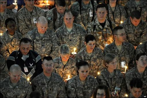 October troops