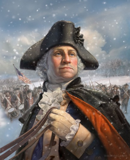 3-george-washington-digital-art-by-mark-fredrickson