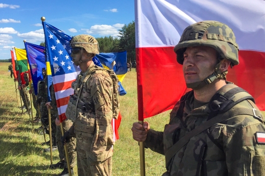 Exercise Anakonda 2016 - Drawsko Pomorskie Training Area Opening Ceremony