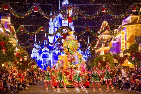 Disneyland Christmas-Parade