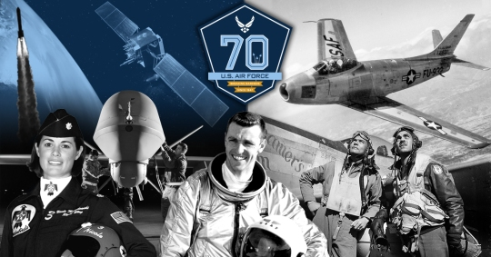 United States Air Force 70th Birthday (Facebook)