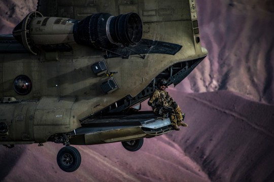 83rd ERQS Guardian Angels conduct training flight with Task Force Brawler