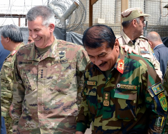 Resolute Support commander visits TAAC-South