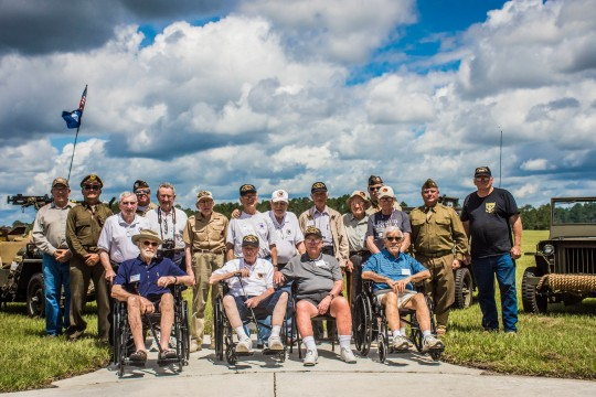 World War II heroes of the 66th Infantry Division hold final reunion at Camp Blanding Joint Training Center