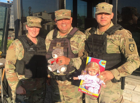 2018 Op Christmas For Our Troops Base MPs JFTB 2